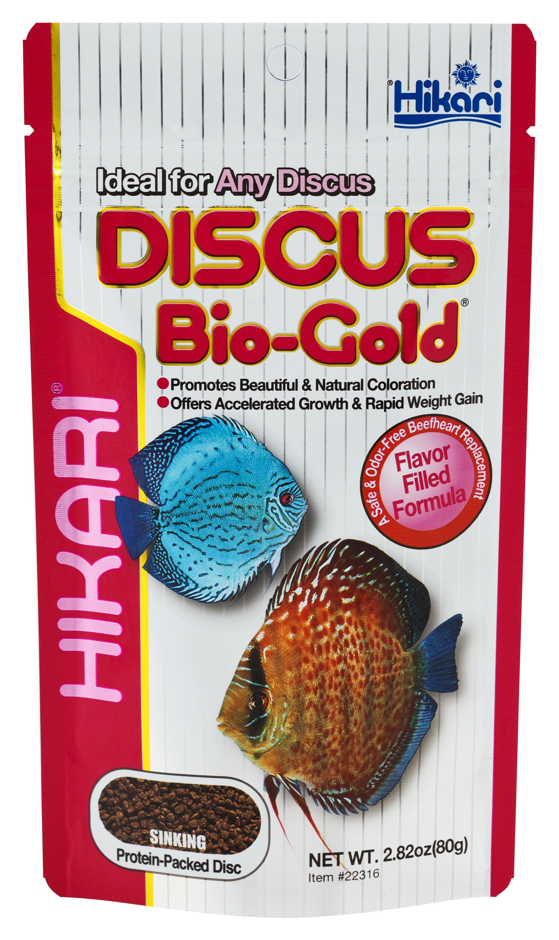 DISCUS Bio-Gold - Hikari Sales USA