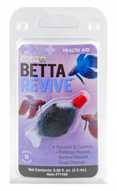 Betta Revive - The World's Most Effective Product Available To Prevent & Control Betta Problems