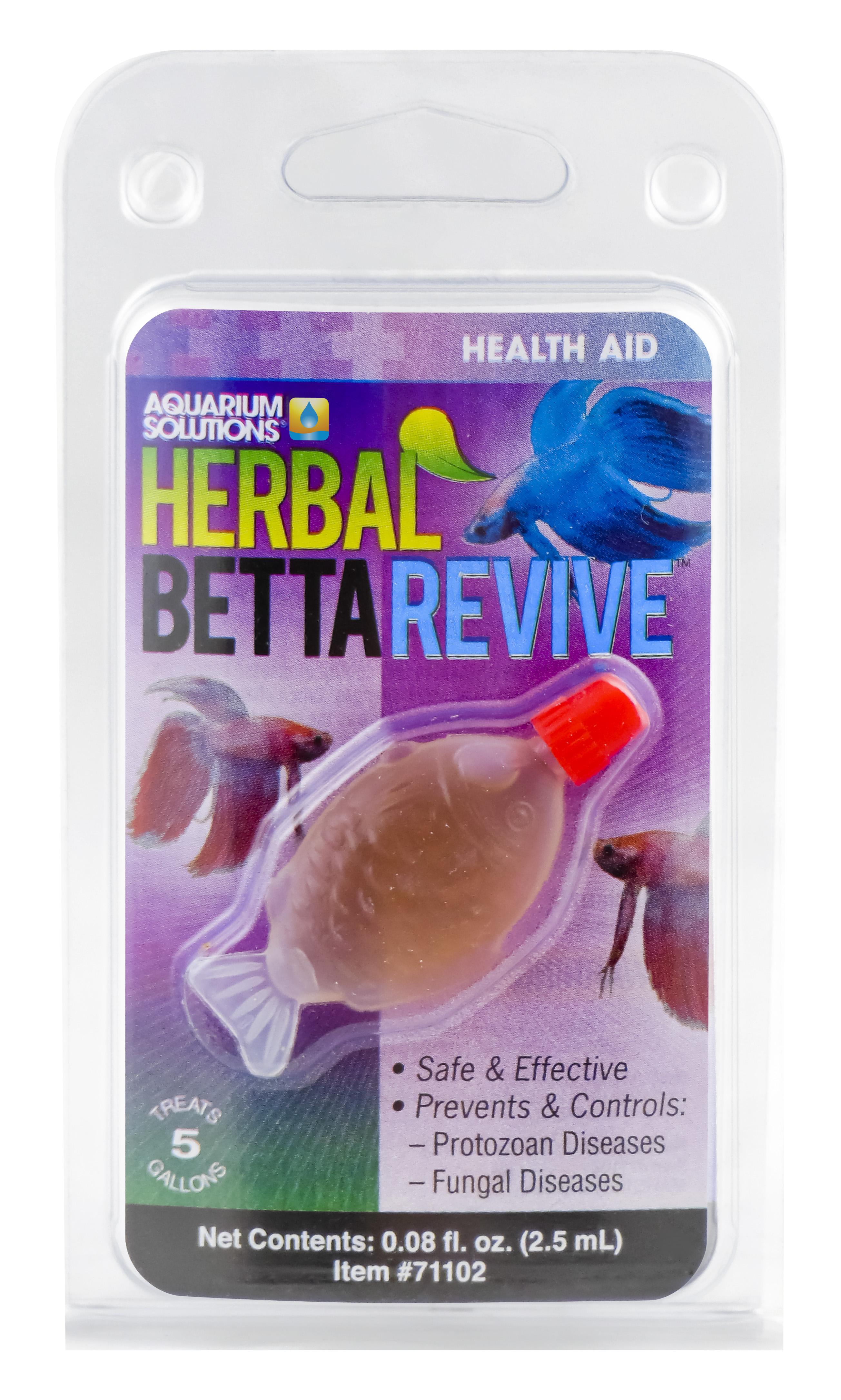 Aquarium Solutions Herbal Betta Revive Health Aid