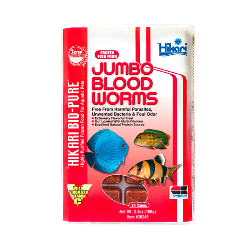 Jumbo Blood Worms